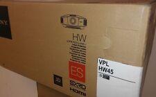 Sony VPL-HW45ES Home Theater Projector 1080P Full HD 3D HDMI 1,800 Lumens Video