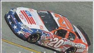 #20 Tony Stewart Patriotic 2003 Daytona 1/43rd Scale Slot Car Decals