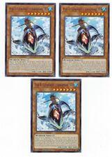 X3 YUGIOH THE LEGENDARY FISHERMAN III LEDU-EN020 COMMON 1ST IN HAND