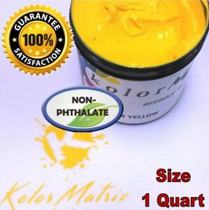 GEN Opaque Yellow Premium Plastisol Screen Printing Ink - Non Phthalate – QUART