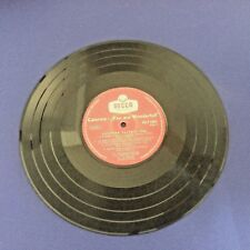 WORLD MUSIC LP Caterina Valente YOU ARE WONDERFULL DECCA ISLF1001 10'' Original