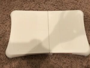 Wii U Wii Fit Balance Board White Used Fitness Video Game Accessories