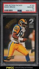 1994 Action Packed Football Isaac Bruce ROOKIE RC #150 PSA 10 GEM MINT