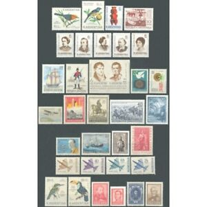 ARGENTINA-1967-COMPLETE YEAR-ARGENTINA - MNH-