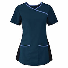 STRETCH HEALTH & BEAUTY TUNIC / SCRUB for HEALTHCARE, SALON,  SPA, DENTIST, VET