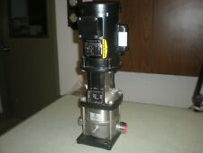 Grundfos Crn1 5 A P G E Hqqe Pump Withbaldor 85700002 Single Phase Motor 2