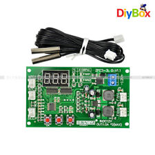 12V Dual Ways 3-wire Fan Speed Controller Digital Display Temperature Thermostat
