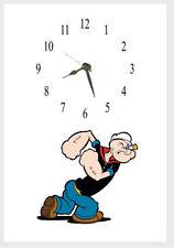 Popeye Wall clock Name Added free