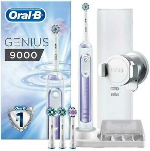Oral-B Genius 9000 Electric Toothbrush - Orchid Purple