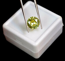 Zircon Natural Amarillo 3.45 Cts VVS Certificado IGL Diamond Cut Cambodia