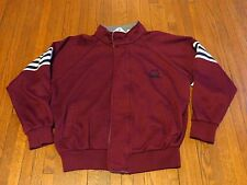 Men's VTG Christian Dior Burgundy Zip Up Coat Jacket sz L