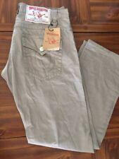 NWT $345 Men's True Religion Jeans Whiskey Billy Super T. KHAKI TAN/  42/32/RARE