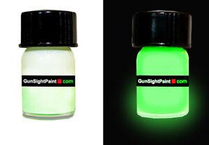Glow In Dark Gun Sight  Paint ENAMEL  w or without laser , Glock, Taurus, Ruger