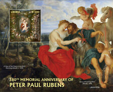 Liberia 2020  paintings of Peter Paul Rubens    S202009