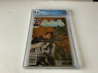 PUNISHER LIMITED SERIES 2 CGC 9.6 WHITE NEWSSTAND NEWS STAND MARVEL COMICS 1986