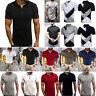 Herren Sommer Polo Shirt Polohemd Kurzarmshirt Poloshirt Freizeithemd Hemd Shirt