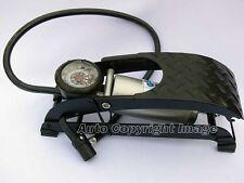 Single Piston Barrel Heavy Duty Car Van Cycle Bike Ball Tyre Inflator Foot Pump