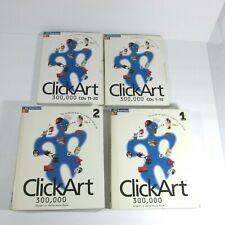 Broderbund ClickArt CD and Books