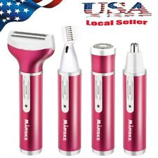 Womens Electric Painless Shaver Ladies Razor Leg Hair Remover Rechargeable【US】