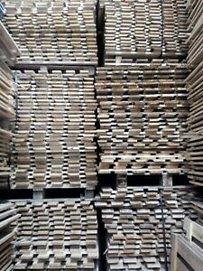Timber Wood Open Slat Boards Decking 1320 x 1200mm For Pallet Racking Rough Sawn