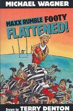 Maxx Rumble Flattened! by Michael Wagner (Paperback,2013) Reluctant Read New!