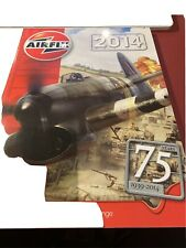Airfix 2014 plastic model kit and Humbrol paint 75 years hornby catalogue