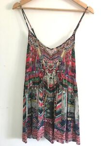 Camilla - Multicoloured playsuit - From the Chinese Whispers collection -size XS