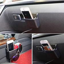 1x Multifunction Auto Storage Box Case Phone Charge Hole Cradle Organizer Holder
