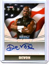 TNA Devon 2013 Impact Wrestling GLORY RAINBOW On Card Autograph SN 1 of 1