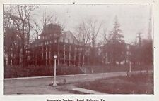 Mountain Springs Hotel in Ephrata PA OLD