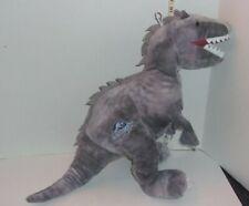 "Large 16"" Jurassic World Plush Gray Soft Dinosaur T Rex Indominus Rex"