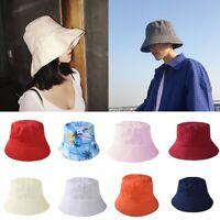 Men Women Travel Bucket Boonie Hats Fishing Summer Outdoor Sun Beach Caps New