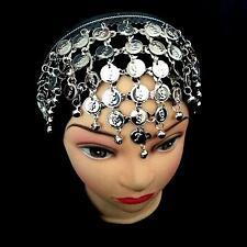 Bauchtanz Haarschmuck mit Münzen  Stirnschmuck Haarreif Kopfschmuck Diadem