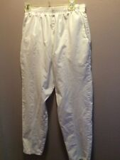 FUNDAMENTALS..SCRUBS PANTS..M..WHITE ...COTTON/65%POLYESTER