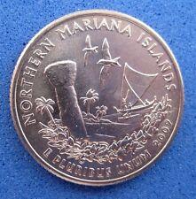 "USA  B/UNC. ""TERRITORIES""  QUARTER  2009  ""NORTHERN MARIANA ISLANDS""  Mint D"