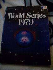 1979 WORLD SERIES PROGRAM PITTSBURGH PIRATES vs BALTIMORE ORIOLES W/ EXTRAS NICE