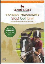 NEW SEALED DVD CLAIRE LILLEY TRAINING PROGRAMME STOP GO TURN