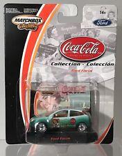 Matchbox Coca Cola Collection Ford Focus Home Refreshment Green New Rare Coke