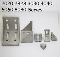 L Shape T Slot  Aluminum Right Brace Corner Angle Bracket Profile 20/30/40/60/80