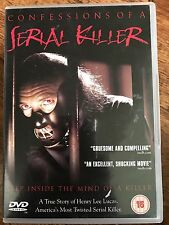 CONFESSIONS OF A SERIAL KILLER 1985 Cult Henry Lee Lucas Docu Drama UK DVD