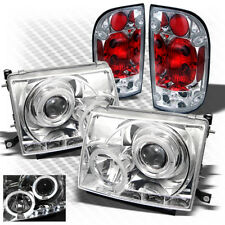 For 97-00 Tacoma Halo Projector Headlights w/LED + Altezza Style Tail Lights