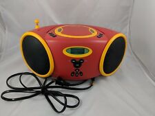 Disney Mickey Mouse Portable Cd Player Digital Am/Fm Radio 2003