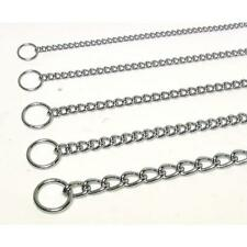 Steel Choke Dog Chains - X Heavy - 5 sizes - electronically welded for strength