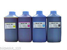 4 Liter Refill Bulk ink for HP Canon Brother Dell Lexmark CMYK Black Color
