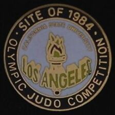 Judo LA Olympic Pin~Los Angeles, CA~1984~Venue Site~California State University