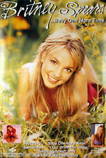Britney Spears 1999 Baby One More Time Perforated Double Sided Promo Poster