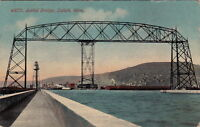 Postcard Aerial Bridge Duluth MN 1912