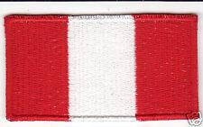 PERU Flag Country Patch
