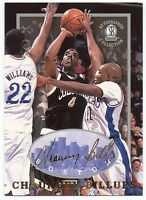 CHAUNCEY BILLUPS 1997 AUTOGRAPHED COLLECTION COLLEGE ROOKIE CARD! 2X NBA CHAMP!