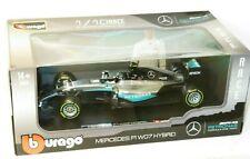 Burago 1/18 Mercedes F1 W07 Hybrid  2016 World Champion Nico Rosberg